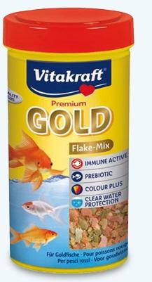 Vitakraft - Premium Gold. Cibo per pesci.  250 ml, 100 gr
