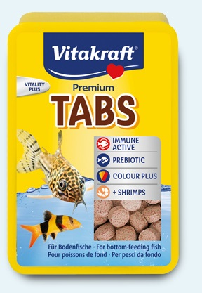 Vitakraft - TABS pastiglie per Pesci da fondo. 100 pezzi.