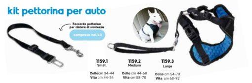 Record – Kit Pettorina Auto e Raccordo. Taglia S