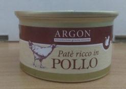 Argon - Patè con Pollo per gatti sterilizzati. 85gr