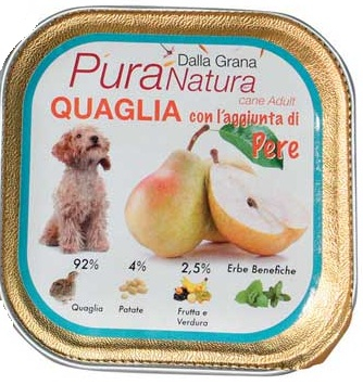 Pura Natura - Quaglia Pere. 150gr