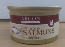 Argon - Patè con Salmone e Gamberetti. 85gr