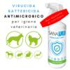 Sanapur Eco 500ml - igienizzante virucida battericida antimicrobico