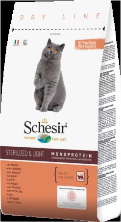 Schesir Cat Sterilized & Light Pollo 1,5Kg