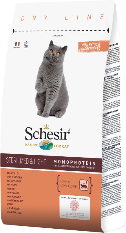 Schesir Cat Sterilized & Light Pollo 1,5Kg