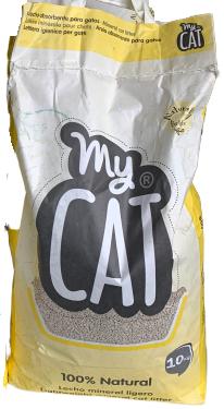 My Cat - Lettiera igienica per gatti. 10litri