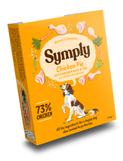 Symply - Pollo con Riso e Verdure. 395gr