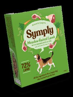 Symply - Agnello con Riso e Verdure. 395gr