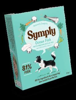 Symply - Pesce Oceanico con Riso e Verdure. 395gr