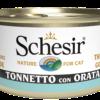 Schesir -Cat Tonno Orata. 85gr