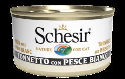 Schesir -Cat Tonno e Pesce Bianco. 85gr
