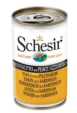 Schesir -Cat Tonno e Pesce Azzurro. 140gr