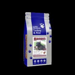 Mangus del Sole - Dog SuperPremium Tacchino Riso. 2kg