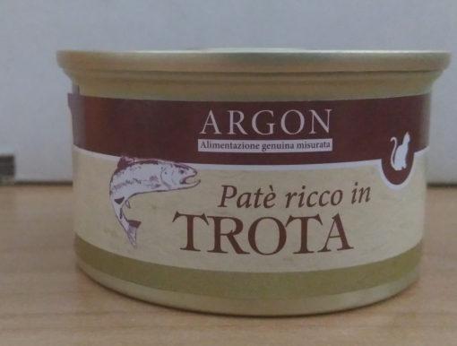 Argon - Patè con Trota. 85gr