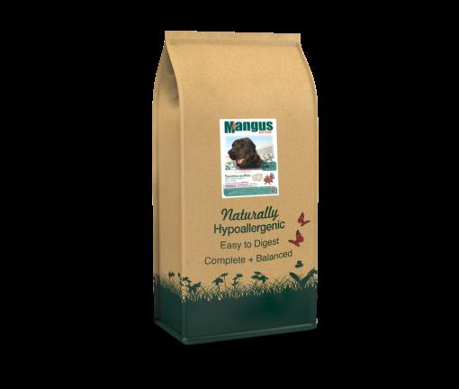 Mangus del Sole - Dog Hypoallergenic Monoproteico Puppy Tacchino Riso. 12kg