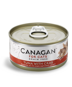 Canagan – Cat Tuna with Crab Tonno + Granchio. 85Gr