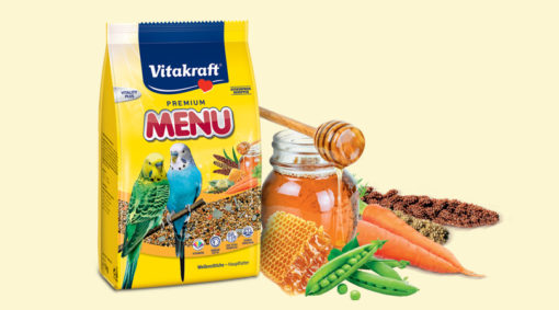 Vitakraft - Premium Menù Vital Pappagallini 1 Kg