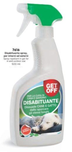 Get Off – Disabituante Spray. 500 ml