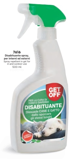 Get Off – Disabituante Spray. 500 ml
