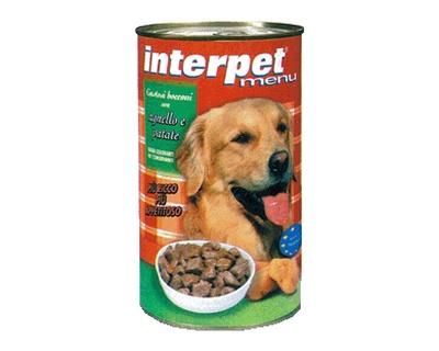 Interpet - Umido Cani Bocconcini Agnello Patate. 1250gr