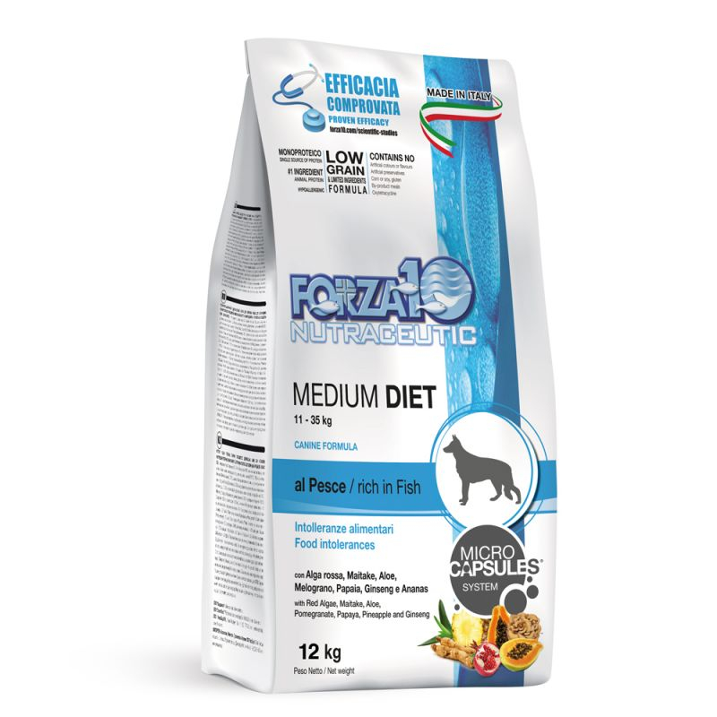 Forza10 - Medium Diet al Pesce. 12kg