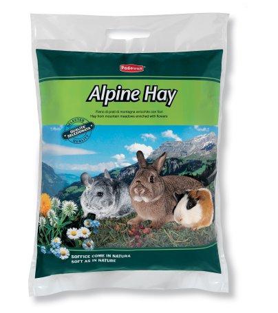 Fieno Alpine Hay. Alimento complementare per conigli nani, cavie e cincillà. 700gr