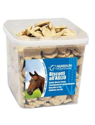 Guidolin - biscotti per Cavalli con Aglio. 2.5kg