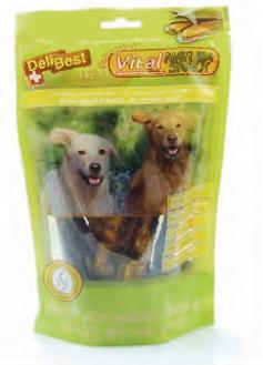 Delibest - Dog snack con Cozze Verdi e Glucosamina per mobilità articolazioni. 200gr