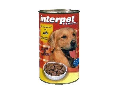 Interpet - Umido Cani Bocconcini Pollo. 1250gr