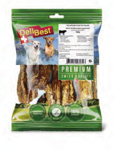 Delibest - Dog snack Polmone Morbido Gourmet. 140gr