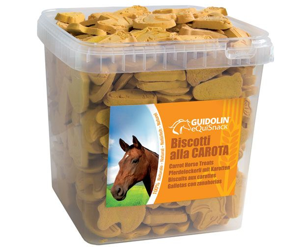 Guidolin - biscotti per Cavalli gusto carota. 2.5kg