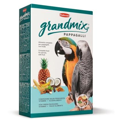 Grandmix mangime per Pappagalli. 600gr