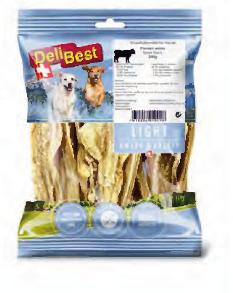Delibest - Dog snack trippa di Manzo bianca. 100gr