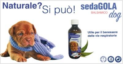 Union Bio - Sedagola cane per il benessere delle vie respiratorie. 200ml