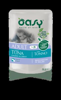 Oasy - Umido Wet Cat Buste Bocconcini Tonno. 85gr