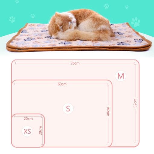 Coperta plaid per Gatti e Cani taglia piccola. 52x76 cm